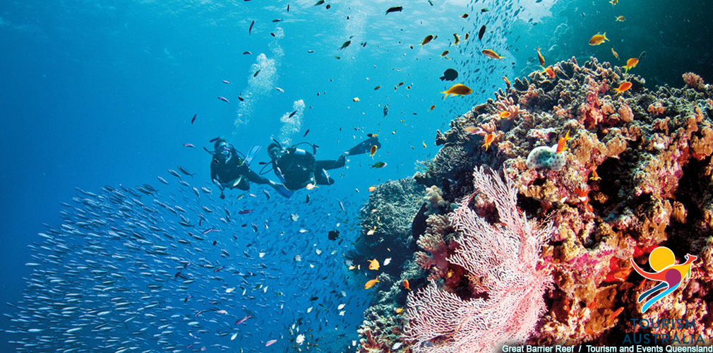 Great Barrier Reef, Tourism and Events Queensland